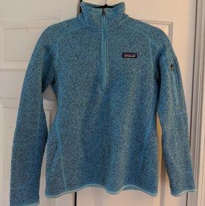 Women's Patagonia quarter zip better sweater